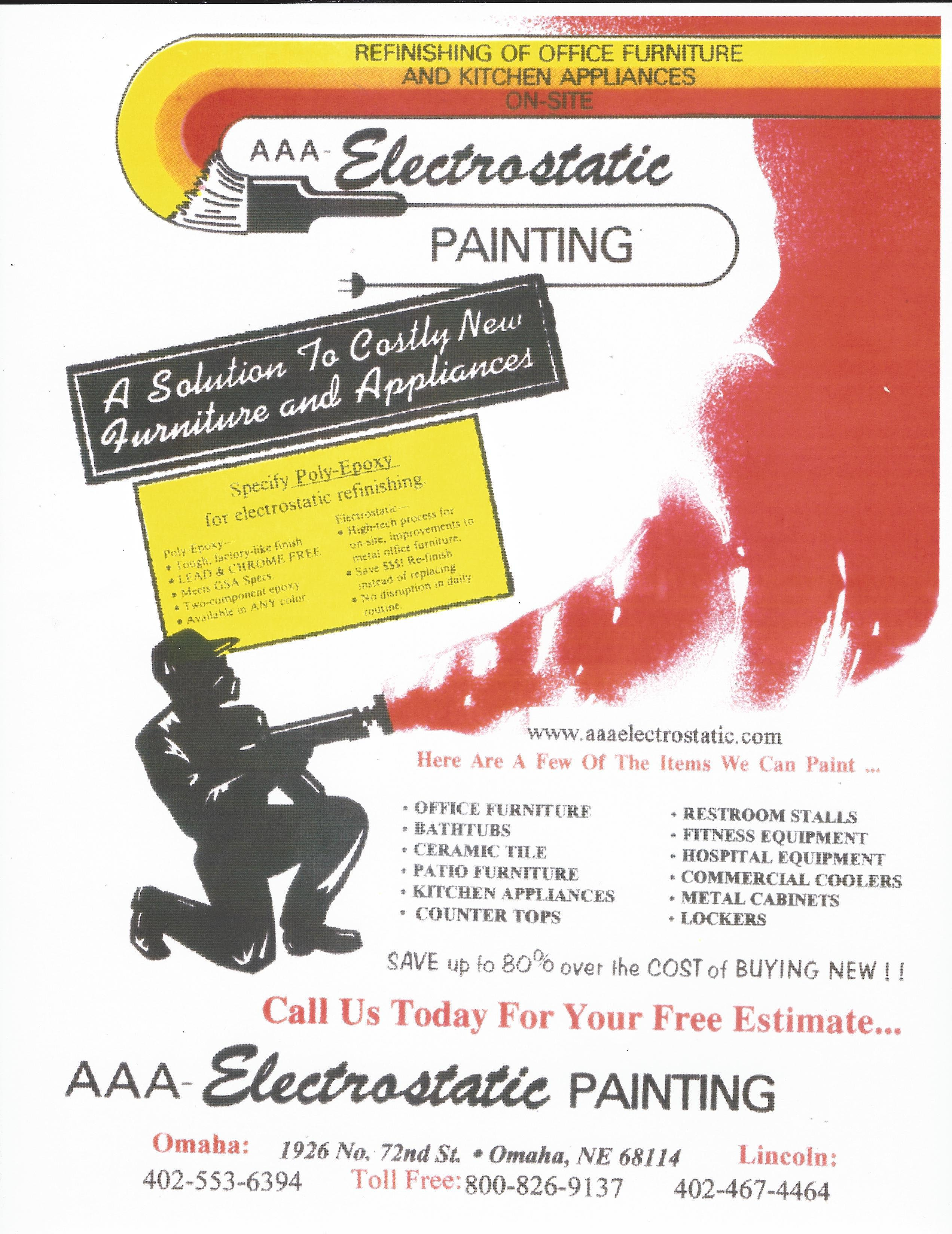 AAA Electrostatic Painting  Flyers Item #1