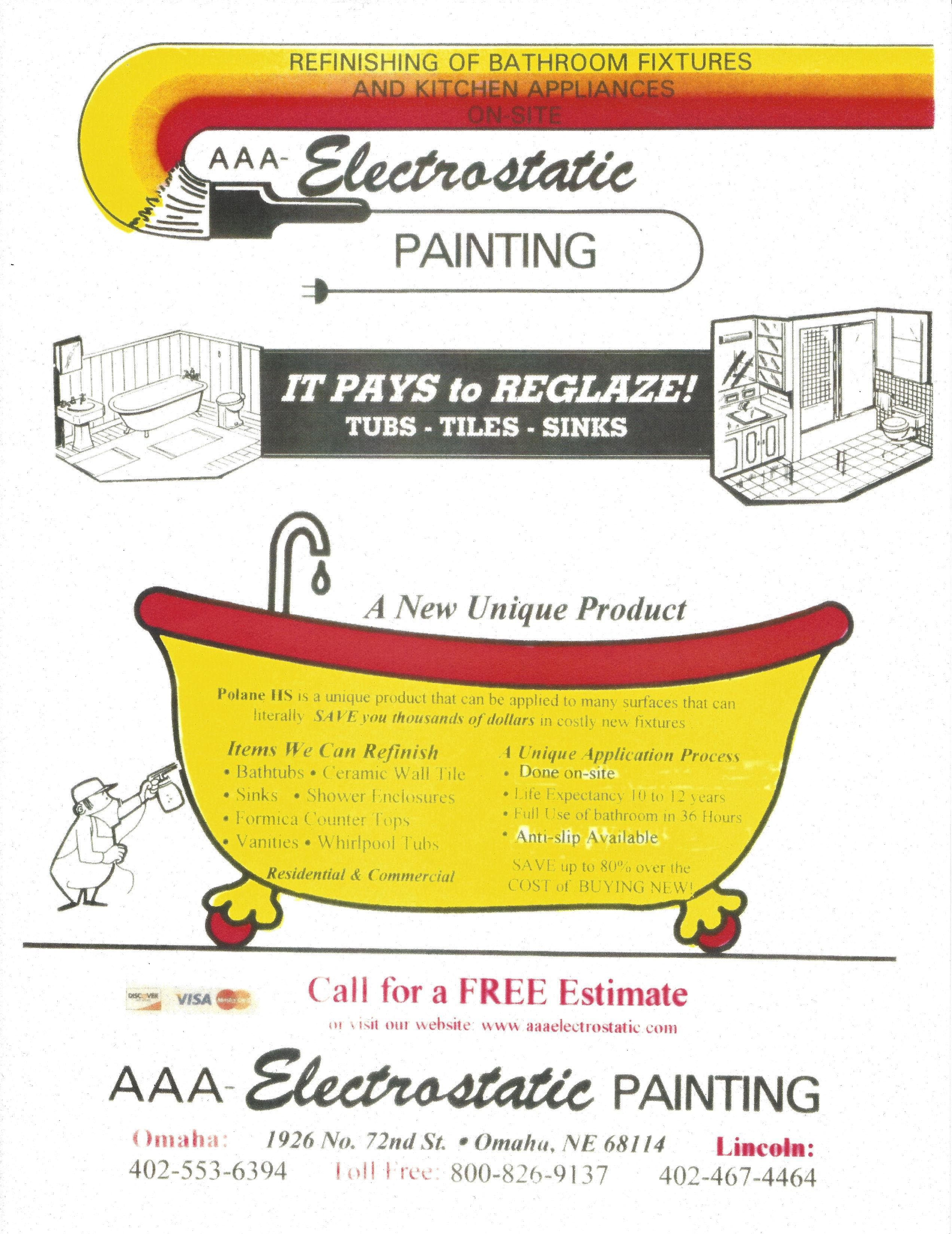 AAA Electrostatic Painting  Flyers Item #3